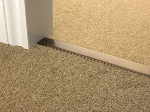 Carpet To Carpet Transition Solid Metal Quality Carpet