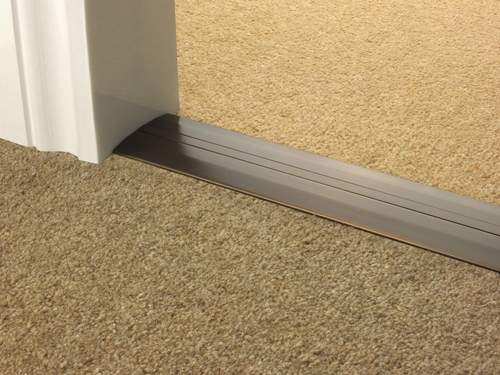 Extra Wide Transition Strips Posh Trims Quality Carpet
