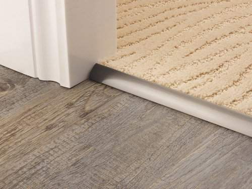 carpet edge strip pewter