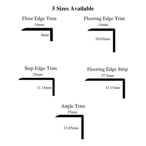 looring egde trims and lips