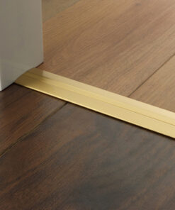 laminate flooring threshold strip satin brass