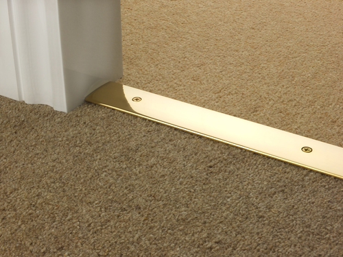 Carpet Door Strip-brass
